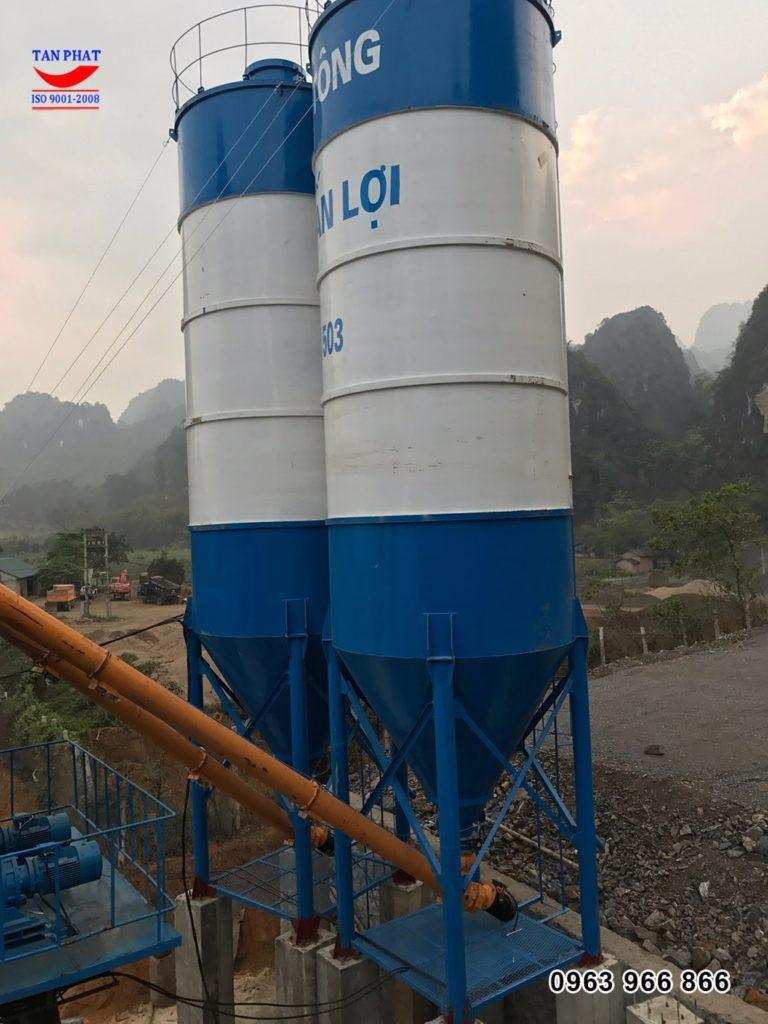silo trạm trộn 90m3