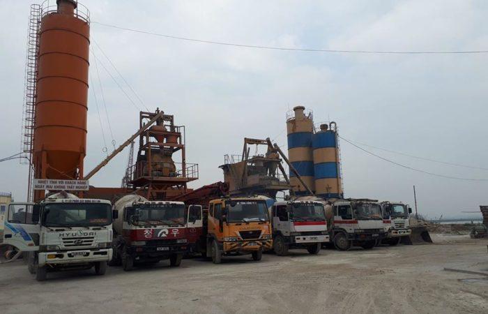 Danh sách công ty bê tông tươi ở Quảng Ninh